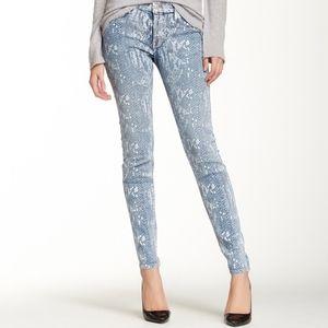 HUDSON Jeans Nico Mid Rise Super Skinny Jean